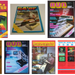 German Commodore 64 magazines.